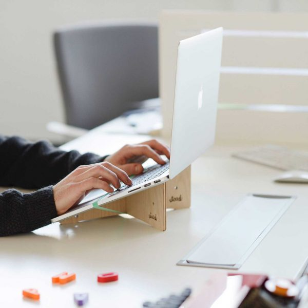 Stood's Wooden Laptop Stand